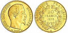 Louis Napoléon Bonaparte (1848-1852) - 20 francs 1852 A (Paris)