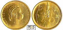 Afrique équatoriale Française - Epreuve de R. Joly - 40 francs (1958)