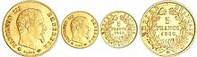 Napoléon III (1852-1870) - 5 francs tête laurée 1860 BB (Strasbourg)