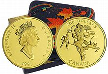 Canada - 200 dollars 1991