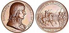Bonaparte - Médaille - La conquête de l'Égypte par Bonaparte, 1798 (1841-1842 refrappe)