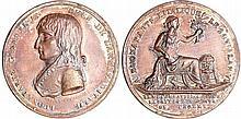 Bonaparte - Médaille - Traité de Campformio 1797