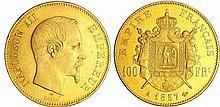 Napoléon III (1852-1870) - 100 francs tête nue 1857 A (Paris)