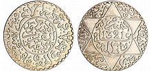 Maroc - Abdül Aziz 1er (1894-1908) - 2 1/2 Dirhams 1321 AH 1903 (Londres)