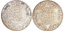 Maroc - Abdül Aziz 1er (1894-1908) - 10 Dirhams 1321 AH 1903 (Paris)