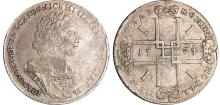 Russie - Pierre Ier (1699-1725) - Rouble 1724
