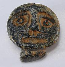 Celtique - Tête grotesque en pierre - 3ème-1er siècle av. J.-C.