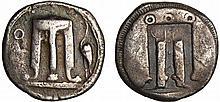Bruttium - Kroton  - Statère (510-480 av. J.-C.)