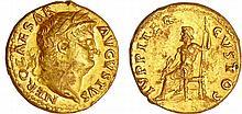 Néron - Aureus (65-66, Rome) - Jupiter