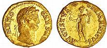 Néron - Aureus (64-65, Rome)