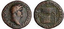 Néron - As (65, Rome) - Temple de Janus