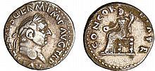 Vitellius - Denier (69, Rome)