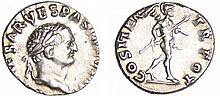 Vespasien - Denier (70, Rome) - La Paix