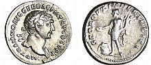 Trajan - Denier (107, Rome) - Le Génie
