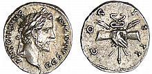 Antonin le Pieux - Denier (146, Rome) - Mains jointes