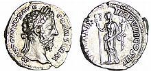 Marc Aurèle - Denier (167, Rome) - La Paix