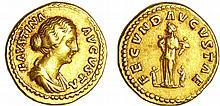 Faustine jeune - Aureus (161-175, Rome) - La Fécondité