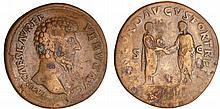 Lucius Vérus - Sesterce (161, Rome)