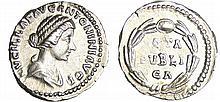Lucille - Denier (164, Rome) - Couronne de laurier