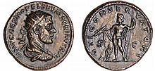 Macrin - Dupondius (217, Rome) - Jupiter