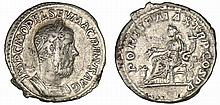 Macrin - Denier (217, Rome) - L'Abondance