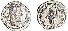 Macrin - Denier (217-218, Rome) - La Providence