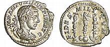 Elagabal - Denier (221-222, Rome)