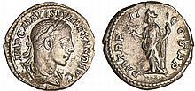Alexandre Sévère - Denier (223, Rome) - Mars