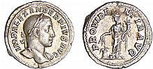 Alexandre Sévère - Denier (232, Rome) - La Prévoyance