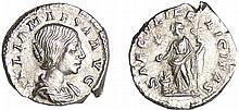 Julia Maésa - Denier (218-220, Rome) - La Félicité