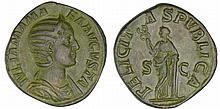 Julia Mamée - Sesterce (228, Rome)