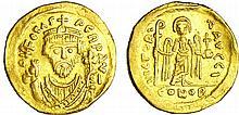 Focas - Solidus (602-610, Constantinople)