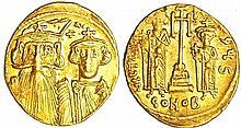 Constans II - Solidus (641-668, Constantinople)
