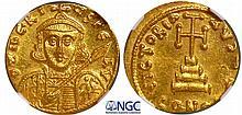 Tibère III - Solidus (698-705, Constantinople)