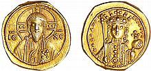Théodora - Tetarteron nomisma (1055-1056, Constantinople)