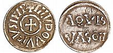 Louis 1er Le Pieux (814-840) - Denier (Dax)