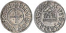 Louis 1er Le Pieux (814-840) - Denier au temple