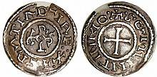Charles II Le Chauve (840-877) - Denier (Saint-Quentin)