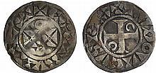 Louis VII (1137-1180) - Denier de Mantes