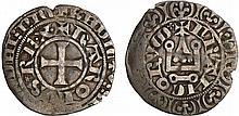 Charles IV (1322-1328) - Maille blanche - 2ème émission juillet 1324