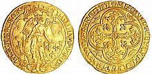 Philippe VI (1328-1350) - Ange d'or - 2ème émission du 8 Août 1341