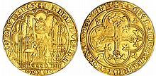 Philippe VI (1328-1350) - Ecu d'or à la chaise - 2ème émission 10 avril 1343