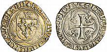 Charles VIII (1483-1498) - Blanc à la couronne - Dijon
