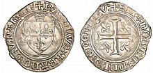 Charles VIII (1483-1498) - Blanc à la couronne - Paris