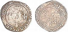 Charles VIII (1483-1498) - Blanc à la couronne de Bretagne - Nantes