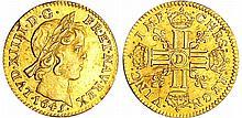 Louis XIV (1643-1715) - ½ louis d'or à la mèche courte - 1645 D (Lyon)
