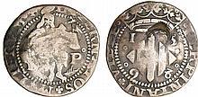 Perpignan - Philippe II - Double sol 1598 (Perpignan)