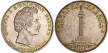 Allemagne - Bayern - Ludwig I (1825-1848) - Geschichtstaler 1828