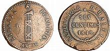 Haiti - Empire (1849-1863) - 6 centimes 1849 (An 46)