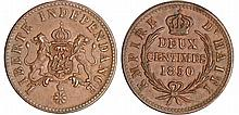 Haïti - Empire (1849-1863) - 2 centime 1850